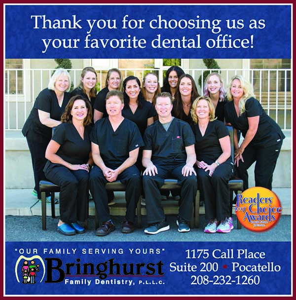 Bringhurst Family Dentistry Readers Choice Award